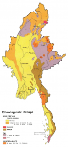 language in burma