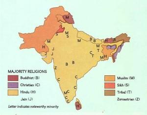 religion in India