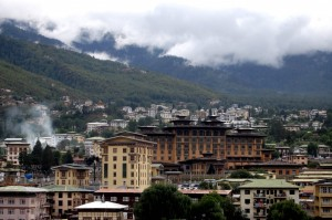 Thimphu overview