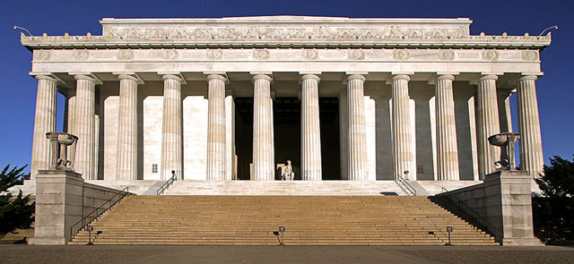 Lincoln Memorial in Washington, D.C. United States of America